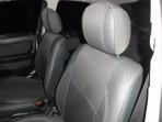 Чехлы из ЭКОкожи для Opel Astra Classic (G) 1998-2008 серая строчка