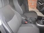 Чехлы из ЭКОкожи для Peugeot 308 Hatchback 2008- серая строчка