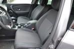 Чехлы из ЭКОкожи для Renault Megane III Hatchback 2009- (раздельная спинка) серая строчка