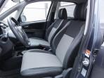 Чехлы из ЭКОкожи для Suzuki SX4 Hatchback 2006- серая строчка