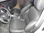 Чехлы из ЭКОкожи для Toyota Auris 2007-2013 серая строчка