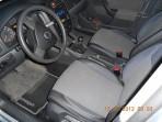 Чехлы из ЭКОкожи для Volkswagen Jetta 2005-2010 серая строчка