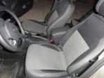 Чехлы из ЭКОкожи для Volkswagen Jetta 2011- (Trendline) серая строчка