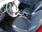 MW Brothers Чехлы из экокожи для Chevrolet Aveo Sedan 2012- красная строчка