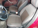 Авточехлы для Ford Fiesta 2008-2012 красная строчка