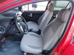 Авточехлы для Geely LC Cross 2012- красная строчка