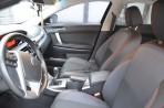 Авточехлы для MG 6 2010- красная строчка