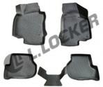 L.Locker 3D коврики в салон для Audi A4 (B8) 2007-