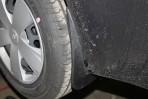 Брызговики для Chevrolet Aveo Sedan 2012- (задние)