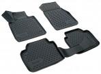 3D коврики в салон для BMW 3 (F30/F31) 2012- черные
