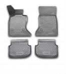 3D коврики в салон для BMW 5 (F10) 2011- черные