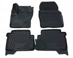 3D коврики в салон для Ford Kuga 2013- черные