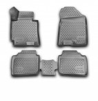3D коврики в салон для Kia Cerato 2013- черные