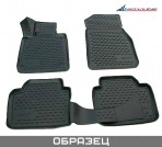3D коврики в салон для Toyota Auris 2013- черные
