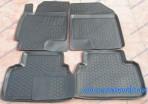 Коврики в салон для Chevrolet Epica 2006-2012 черные