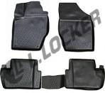 3D коврики в салон для Citroen C4 2010-