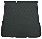 Коврик в багажник для Chevrolet Aveo Sedan 2012- полиуретановый