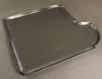 Коврик в багажник для Citroen C-Crosser 2007- (с сабвуфером) полиуретановый NorPlast