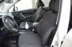 Чехлы из ЭКОкожи для Subaru Forester 4 2013- серая строчка