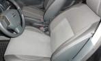 Чехлы из ЭКОкожи для Nissan Almera Classic 2006- (подголовники) серая строчка