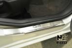 Накладки на пороги Citroen C4 2010-