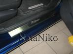 Накладки на пороги Citroen Grand C4 Picasso 2007-