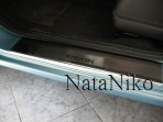 Nataniko Накладки на пороги Daihatsu Sirion 2005-