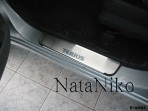 Накладки на пороги Daihatsu Terios 2006-