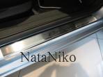 Nataniko Накладки на пороги Fiat Bravo II 2007-