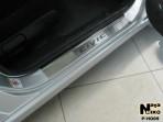 Nataniko Накладки на пороги Honda Civic 4D Sedan 2006-2012