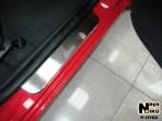 Nataniko Накладки на пороги Hyundai Getz 2002-2011 (5 дверей)
