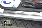 Nataniko Накладки на пороги Hyundai Veloster 2011-