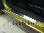 Nataniko Накладки на пороги Mazda 2 2007-