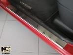 Nataniko Накладки на пороги Nissan Micra 2002-2010 (5 дверей)