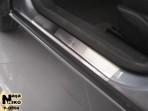 Nataniko Накладки на пороги Opel Astra H Hatchback 2004- (5 дверей)