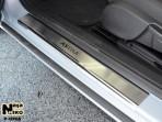 Nataniko Накладки на пороги Opel Astra J 2009- (5 дверей)