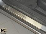 Nataniko Накладки на пороги Opel Vectra C 2002-