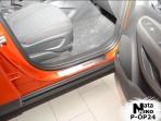 Nataniko Накладки на пороги Opel Mokka 2013-