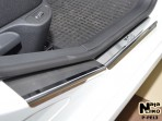 Nataniko Накладки на пороги Peugeot 308 2008- (5 дверей)