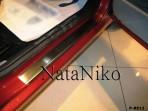 Nataniko Накладки на пороги Renault Logan Sedan 2010-2013