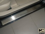 Nataniko Накладки на пороги Renault Megane II 2003-2009 (5 дверей)