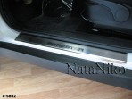 Nataniko Накладки на пороги Subaru Forester III 2008-2013