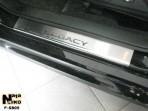 Nataniko Накладки на пороги Subaru Legacy 2010-