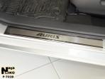 Nataniko Накладки на пороги Toyota Auris 2013-
