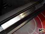 Nataniko Накладки на пороги Toyota Corolla 2013-