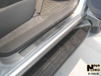 Nataniko Накладки на пороги Toyota Land Cruiser Prado 120 2002-2009