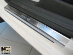 Nataniko Накладки на пороги Volkswagen Amarok 2009-
