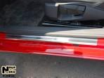 Накладки на пороги Volkswagen Scirocco 2008-