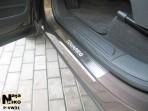 Накладки на пороги Volkswagen Touareg 2010-