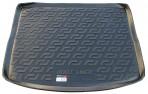Резиновый коврик в багажник Suzuki SX4 2013- (верхний)
